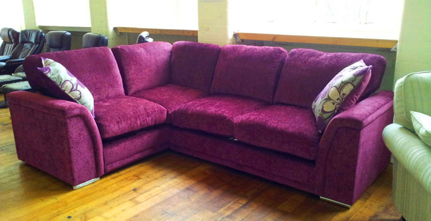 Sofa sale famous furniture clearance sofa sale for Purple sofa